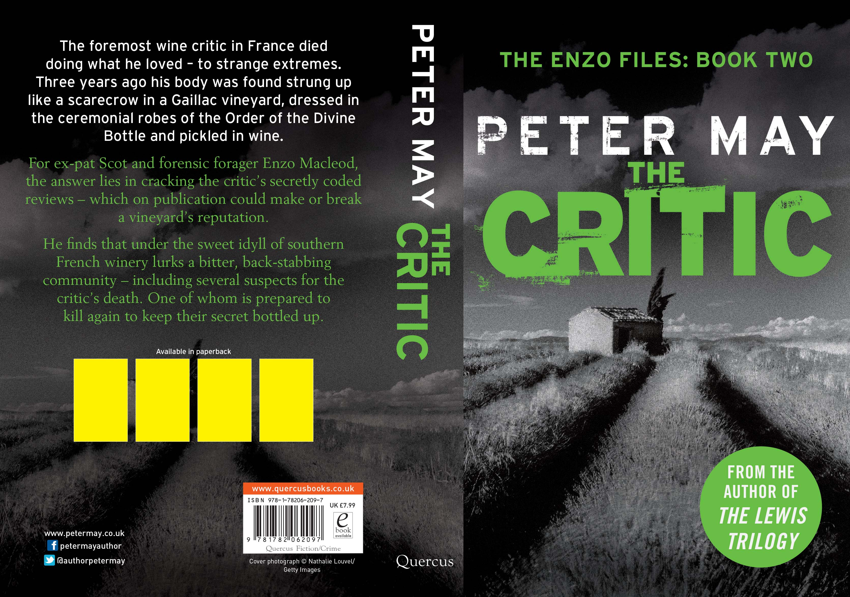 Latest news from peter may scottish author of the lewis trilogy the critic fandeluxe Choice Image